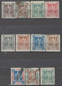 COLLECTION LOT # 5362 MARIENWERDER 11 STAMPS 1920 CLEARANCE