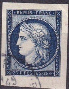 France  #613  F-VF Used  CV $3.00 (Z3014)