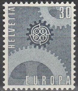 Switzerland #482  MNH F-VF (90)