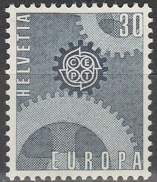 Switzerland #482  MNH F-VF (90)