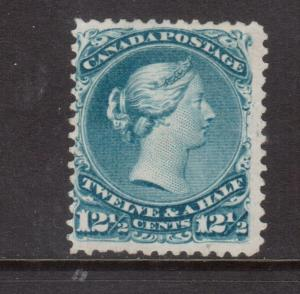 Canada #28iv Mint Balloon Flaw Variety **With Certificate**