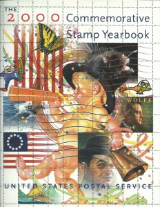 2000 USPS Stamp Album **No Stamps Included**