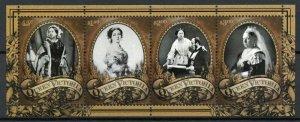 Tokelau Royalty Stamps 2019 MNH Queen Victoria 200th Birth Anniv 4v M/S