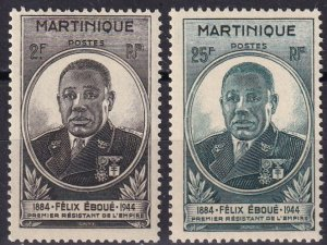 Martinique #196-7   MNH (Z8060)