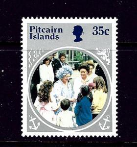 Pitcairn Is 254 MNH 1985 Queen Mother