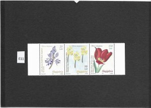 [E11] Albania 2013, Tulip, MiNr. 3431-3433, GimNr 3587-89, only 4800 sets, MNH