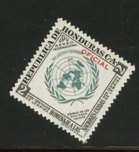 Honduras  Scott Co61 MNH** Official Flag airmail