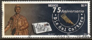 MEXICO 2530, LETTER CHARRIERS DAY. USED. VF. (1183)