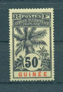 French Guinea sc# 43 mh cat value $13.00