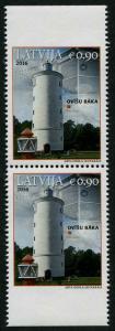 HERRICKSTAMP NEW ISSUES LATVIA Sc.# 945 Lighthouse 2016 - Ovisu