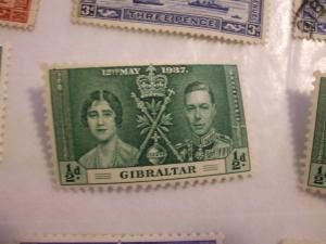 Gibraltar #104 mint HR  (reference 1/2/5/4)