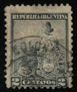 1899-1903, Symbols of the Republic Argentina, 2c, MC #101 (RТ-410)