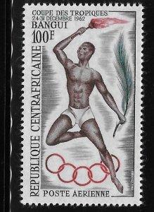 Central African Republic 1962 Tropics Cup Games Bangui Sc C9 MNH A1277