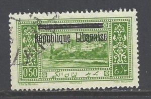 Lebanon Sc # 73 used (RS)
