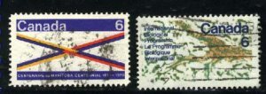Can #505,507   -2   u   VF 1970 PD