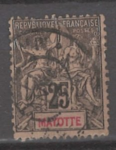 COLLECTION LOT # 3006 MAYOTTE #10 1892