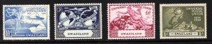 SWAZILAND  SC# 50-53  FVF/MLH
