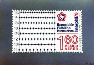 G)1976 MEXICO, ORIGINAL SIGNED BY AUTHOR, DAVIDSON, 10 SKETC