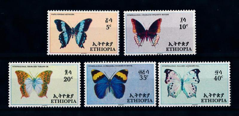 [70652] Ethiopia 1967 Insects Butterflies  MNH