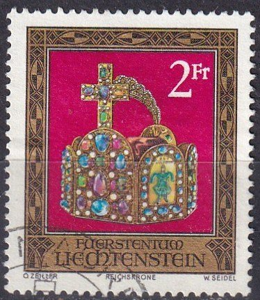 Liechtenstein #571  F-VF Used  CV $2.75  (V4972)