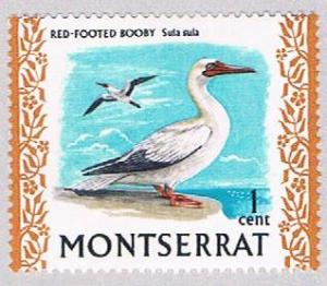 Montserrat 231 MLH Red footed Booby 1970 (BP3136)