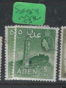 ADEN  (PP0807B)  QEII  5C  SG 48-9   MNH