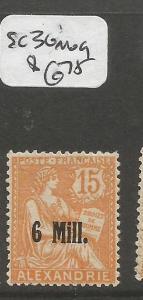 French Alexandria SC 36 MOG (1cpp)