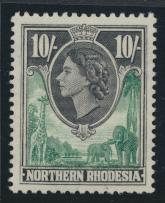 Northern Rhodesia  SG 73 SC# 73 MH- see details