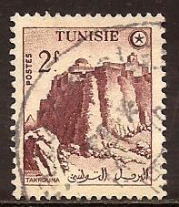 Tunisia  #  238  used