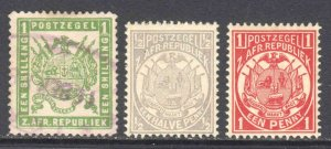 TRANSVAAL COLLECTION LOT x3 OG NH U/M USED YOU IDENTIFY AND GRADE $$$$$$$