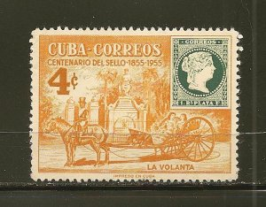 Cuba 540 Stamp Convention 1955 Used