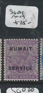KUWAIT   (PP2704B) ON  INDIA KGV  SERVICE  2 A  SG O4      MOG