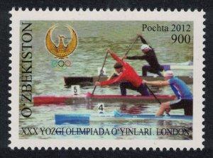 Uzbekistan Canoe Olympic Games 2012 London 1v MI#1042