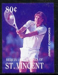 St Vincent - Bequia 1988 International Tennis Players 80c...