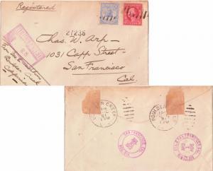 United States Washington Franklins 1c Washington Franklin 1912 New York, N.Y....
