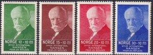 Norway #B5-8 MNH  CV $45.00 (Z9331)