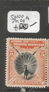 North Borneo SG 100a MOG (2cls)