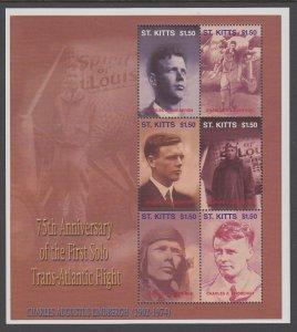 St Kitts 550 Souvenir Sheet MNH VF