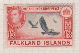 Falkland Islands Sc#92 MH