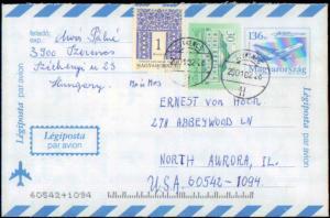Hungary, Postal Stationery, Government Postal Card