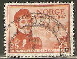 Norway Used Sc 282 - Christian M. Falson