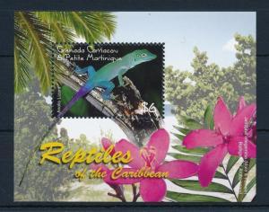 [32380] Grenada Grenadines 2005 Reptiles Lizard MNH Sheet