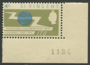 STAMP STATION PERTH St Vincent #224 ITU MNH CV$0.25