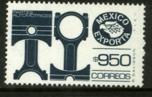 MEXICO Exporta 1587, $950P Pistons Fosfo Paper 10. MINT, NH. VF.