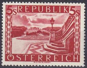 Austria #499  F-VF Unused   CV $40.00  Z134