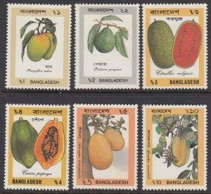 Bangladesh 365-70 Fruits mnh