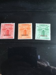 Pakistan Sc #O89-O91 MintF-VF-NH1963OfficialSet of 3 Complete Gate2015Cat$6.10