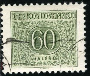 CZECHOSLOVAKIA - #J86 - USED - 1955 - CZECH287AFF3