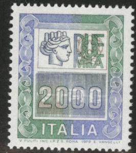 Italy Scott 1292 MNH** 1979 2000 Lire stamp
