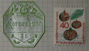 Korner Bund German Charity Seals 3h